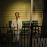 Tom Hanks in Forest Gump Wax Figure