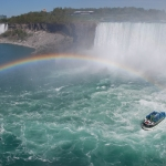 Rainbow with Maid of the Mist