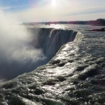 Up Close View of Niagara Falls