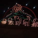 Unicorn Animated Displays at the Winter Festival of Lights