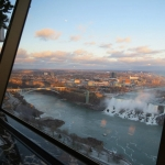 View of the Falls from the Revolving Dining Room