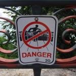 Warning Sign Niagara Falls