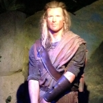 Wax Figure of Movie Character at Movieland