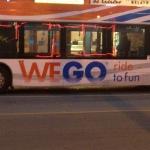 WeGo bus in Niagara Falls