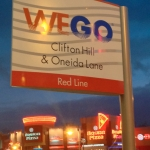 WeGo Sign in Niagara Falls