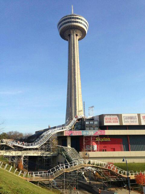 History Of A Niagara Falls Icon Skylon Tower