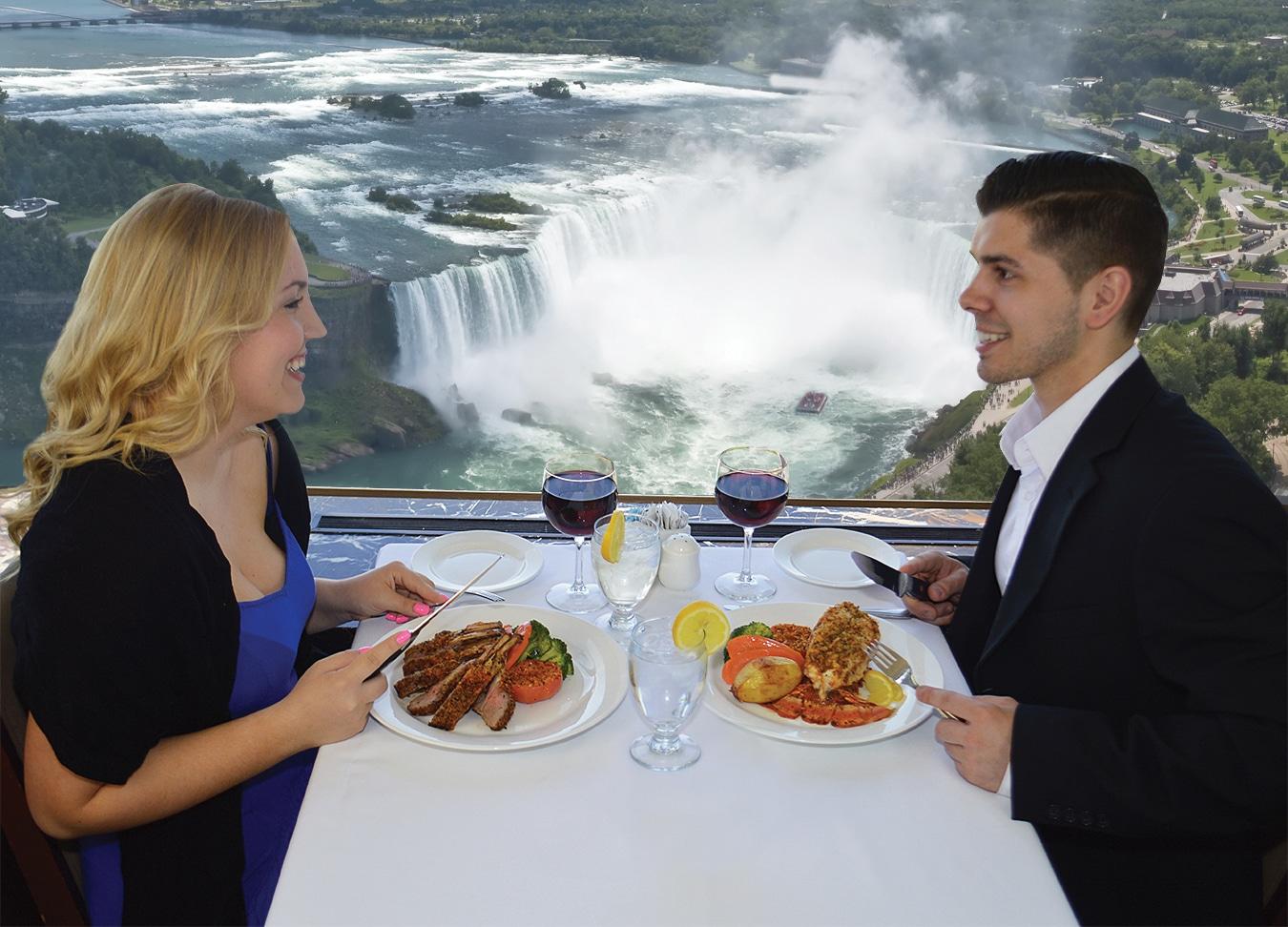 Revolving dining room niagara falls