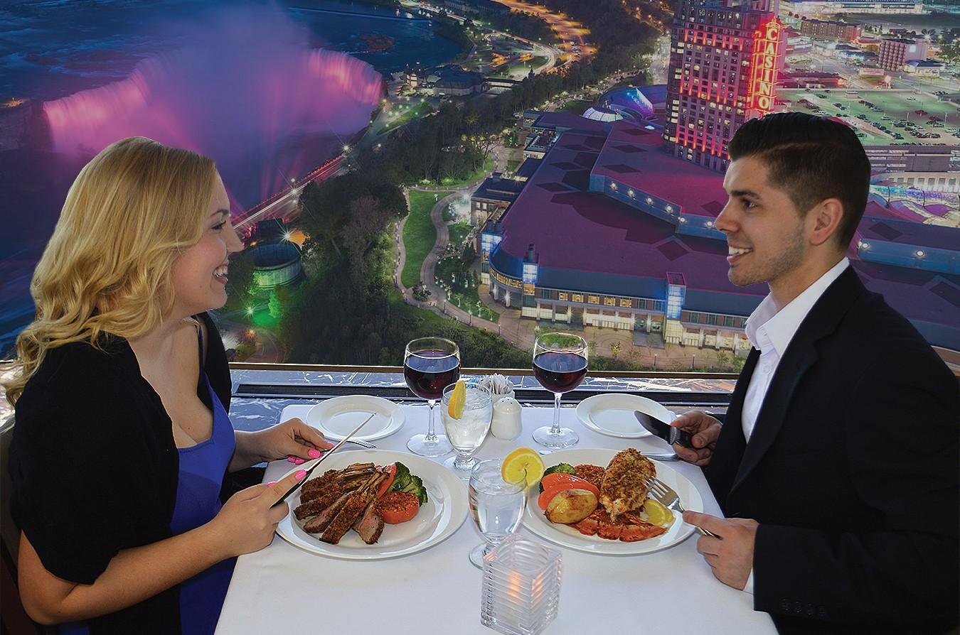 Skylon Tower Niagara Falls Dining Review