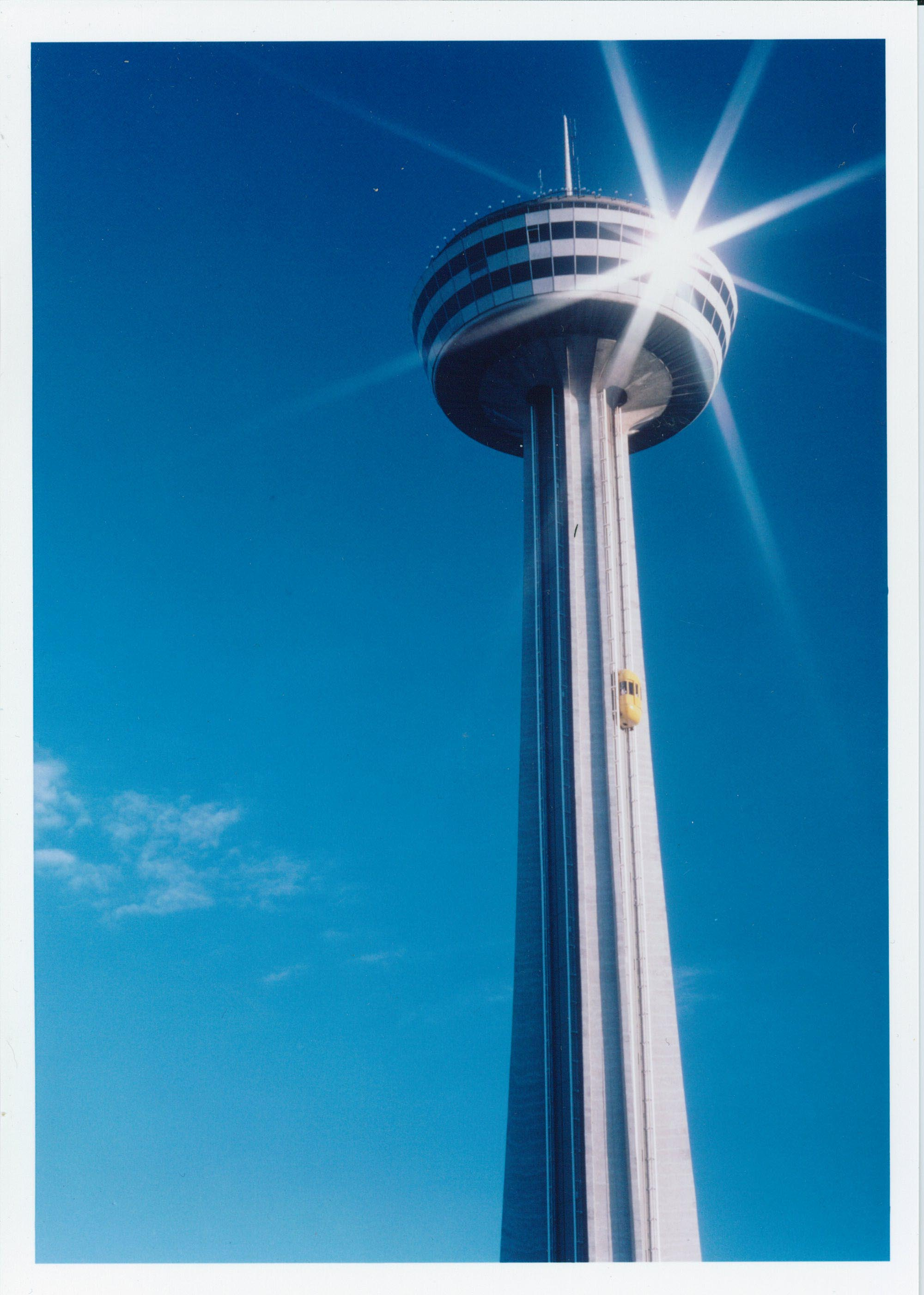 """The Tower Was Officially Named the """"Skylon Tower"""""""
