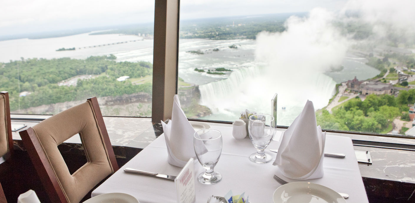 Revolving Dining Room - Skylon Tower