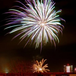 20eanniversaire de la série de feux d'artifice de Niagara Falls