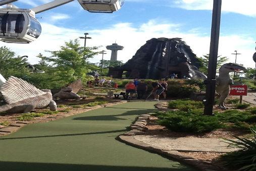 Dinosaur Adventure Golf Niagara