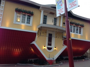 The Upside Down House