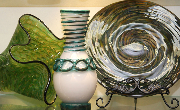Angelo Rossi Glass Blowing