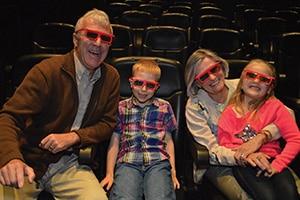 3D 4D Falls Movie