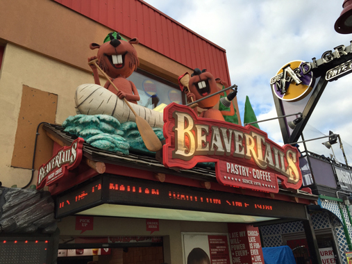 exterior Storefront view of Beavertails