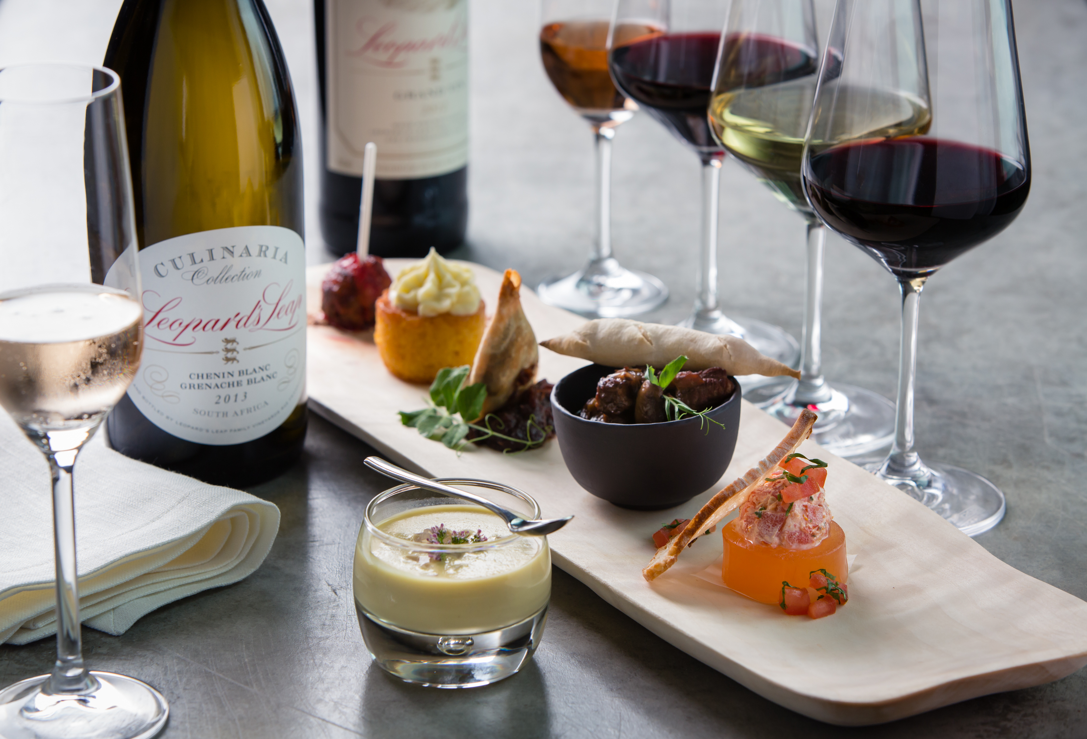 Food and wine pairings at skylon tower skylon tower for Cuisine wine