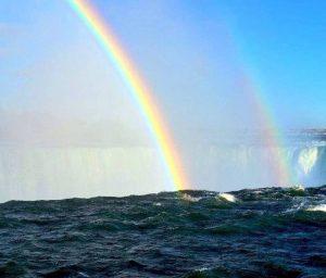 Rainbows Over Niagara Falls