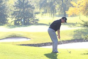 Golfing on Father's Day in Niagara Falls