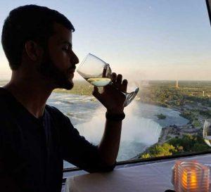 Skylon serves Niagara Wines