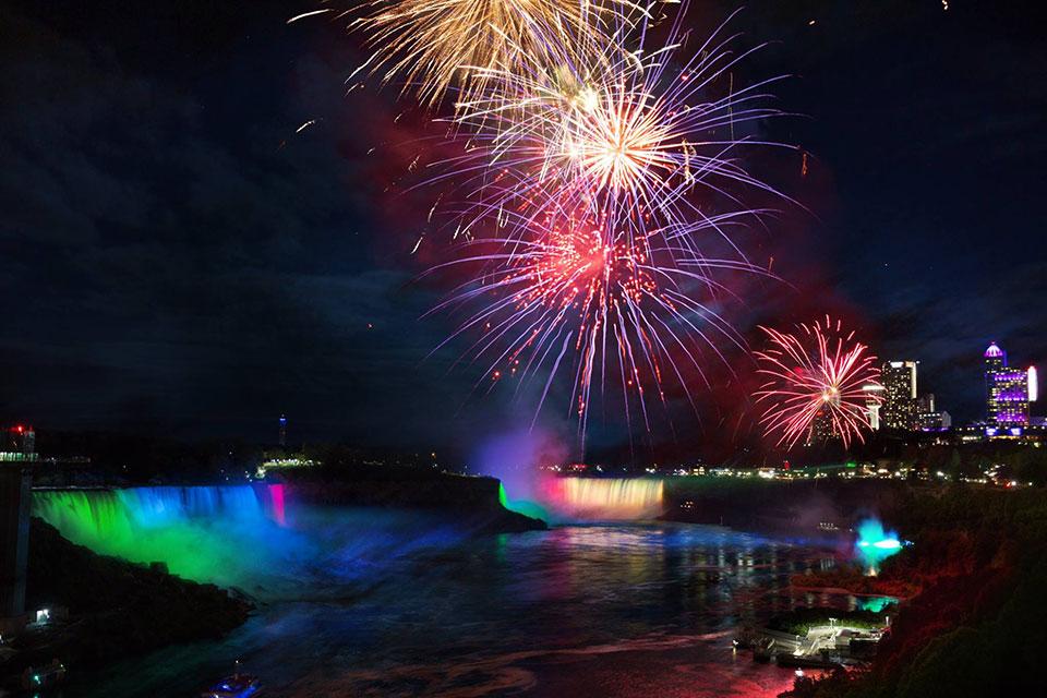 Niagara Falls Canada Fireworks