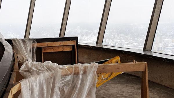 Skylon Tower 2018 Renovations Before
