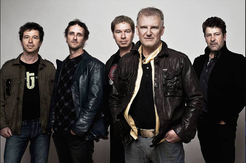 Glass Tiger Rock Band at Live by the Falls