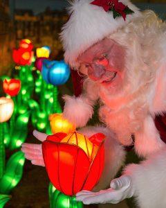 Glow Niagara Santa